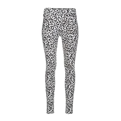 PUMA Classics All Over Print Mr Leggings (Vaporous Gray/Animal All Over Print) Women