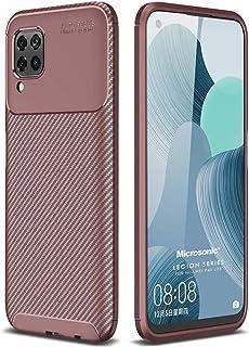 Microsonic Huawei P40 Lite Kılıf, Legion Series, Kahverengi