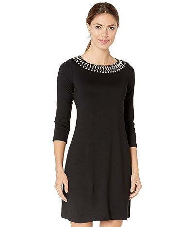 Tommy Bahama Drapey Ponte 3/4 Sleeve Dress Women