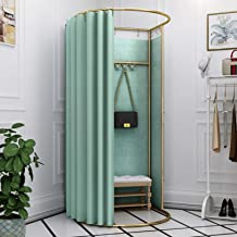 YXYECEIPENO Standing Work Clothes Changing Room Changing Room Camp Toilet Changing Room Dressing Room Curtain Kit and Meta...