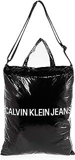 كالفن كلاين حقيبة تسوق للنساء , اسود