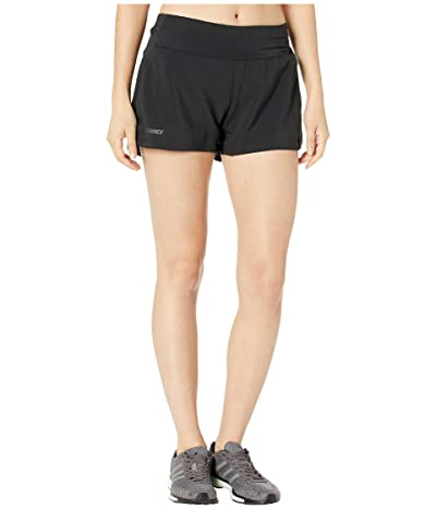 adidas Outdoor Trail Shorts (Black) Women