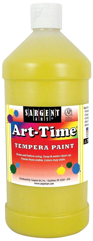 Sargent Art 17-6502 32 oz Yellow Art-Time Tempera Paint