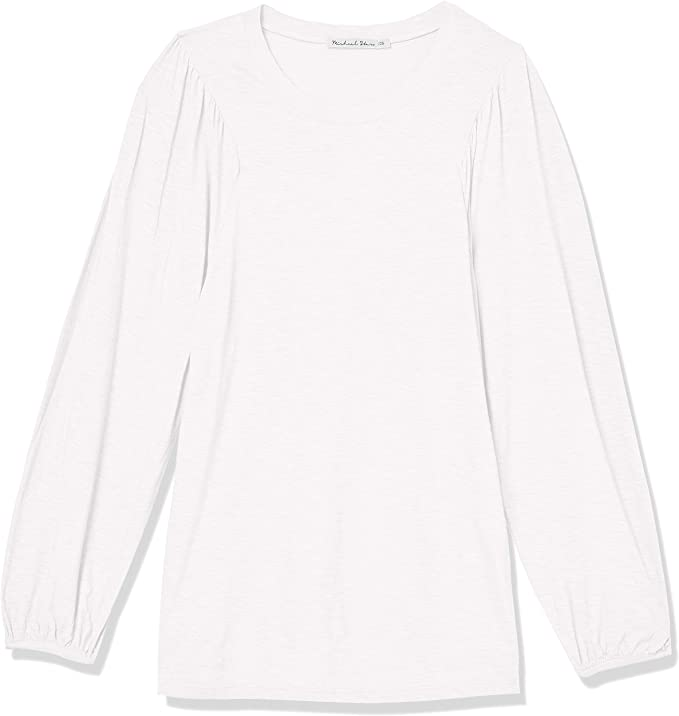 Choose SZ//color Details about  /Michael Stars Women/'s Puff Sleeve