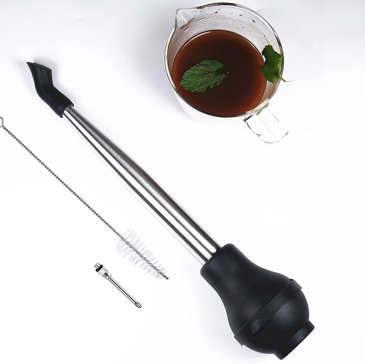 i Year-end annual account Kito 4-in-1 Stainless Steel Turkey Virginia Beach Mall Meat Marina With Set Baster