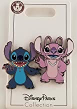 Disney Pin - Stitch and Angel