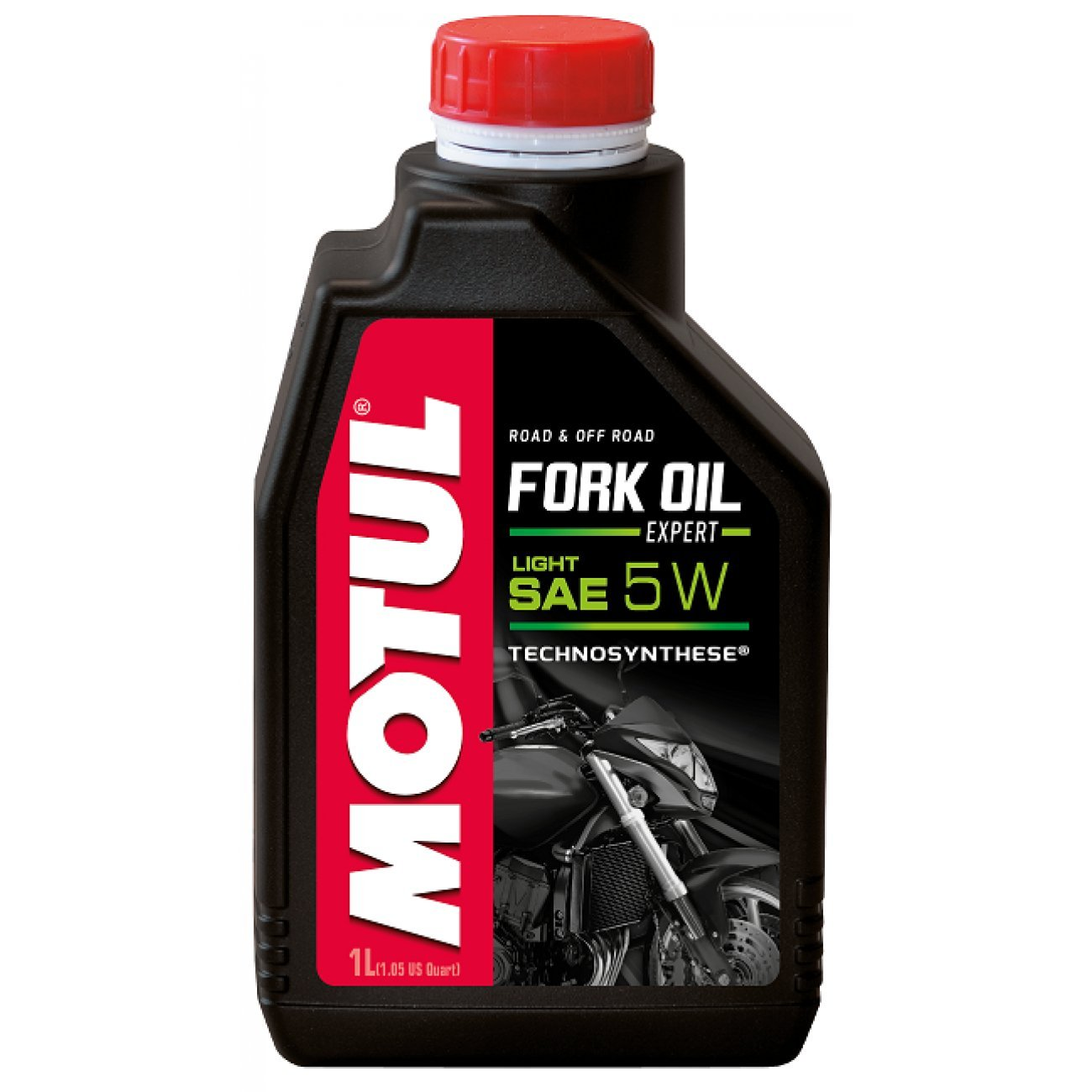 MOTUL - 105929 : Aceite de suspension FORK OIL EXPERT LIGHT 5W 1 L: Amazon.es: Coche y moto