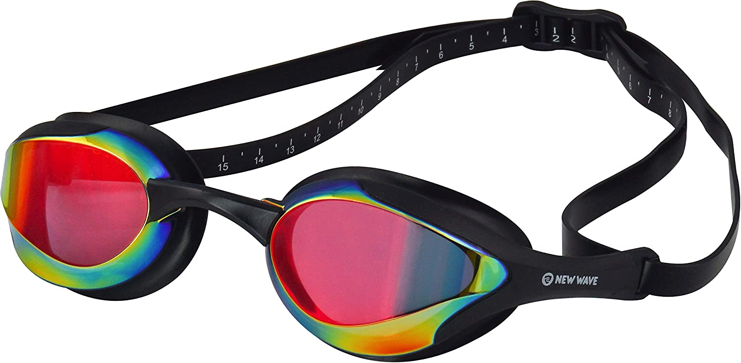 Selling and selling New Wave Swim Goggles Surprise price with Protective Storage Fog Case - Anti Le