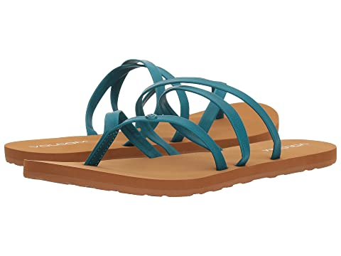 Volcom Breezy Teal Easy Volcom Sandals Easy twrxY4wqS