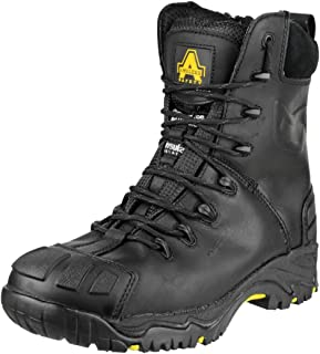 Amblers Safety Mens FS999 Hi Leg Composite Safety Boot with Side Zip