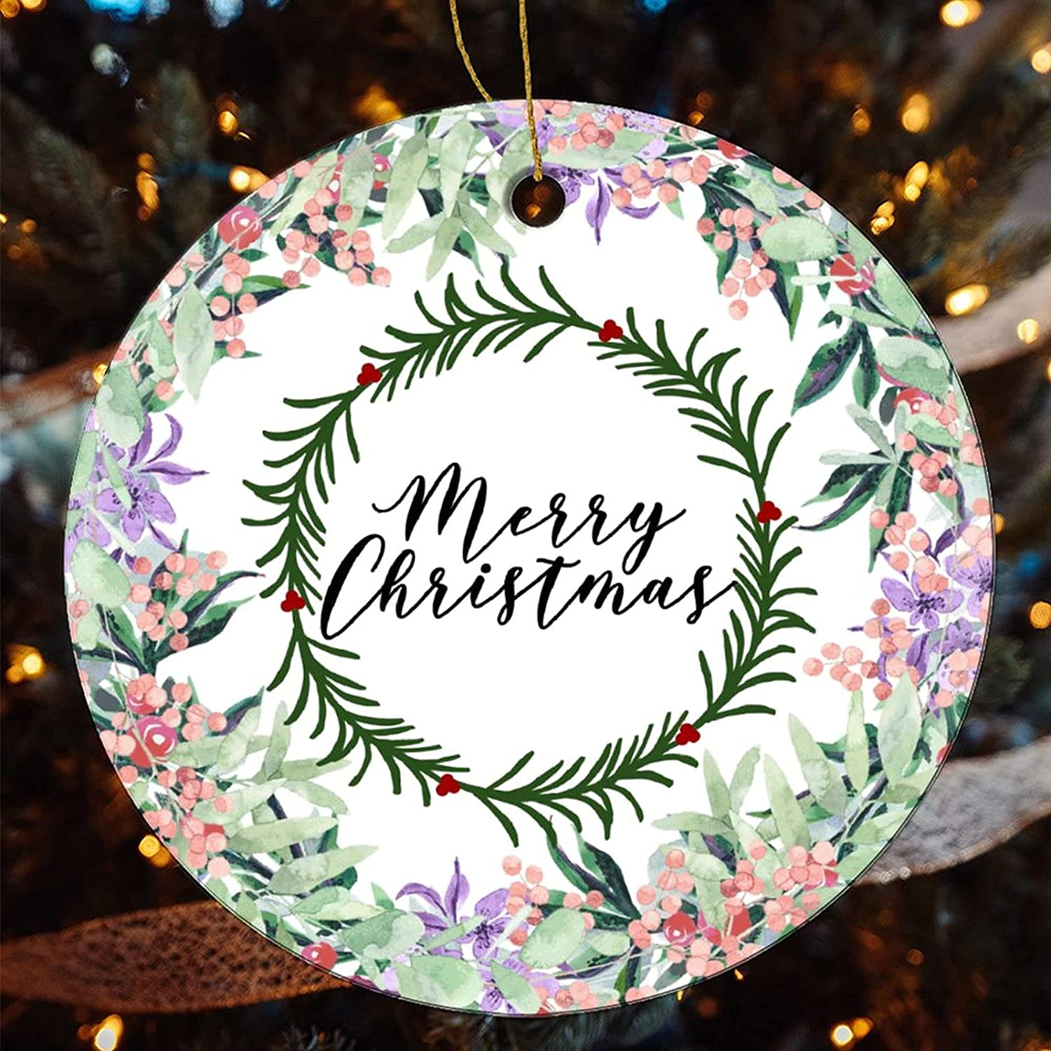 Complete Free Shipping by Unbranded Christmas Ornament Wrea Super-cheap Merry