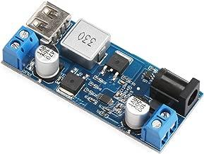 12v to 5v 5A Converter, DROK USB Buck Converter Voltage Regulator DC 9V-36V Step Down to DC 5V-5.3V 3.5-6A Volt Transformer Power Supply Module