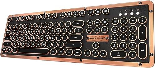 Azio Retro Classic Bluetooth (Artisan) - Luxury Vintage Backlit Mechanical Keyboard