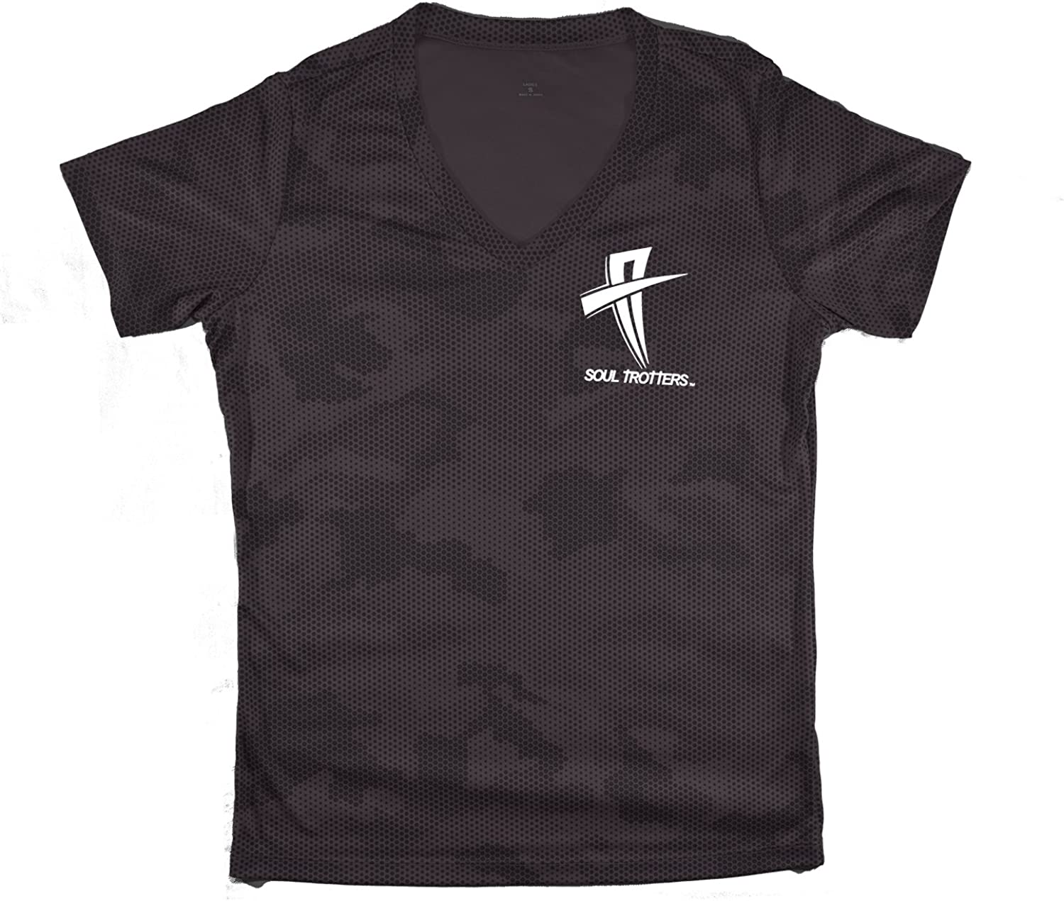 Women's Short Sleeve  Soul Cool Fit TShirt  Pewter Camo Fade  Amazon