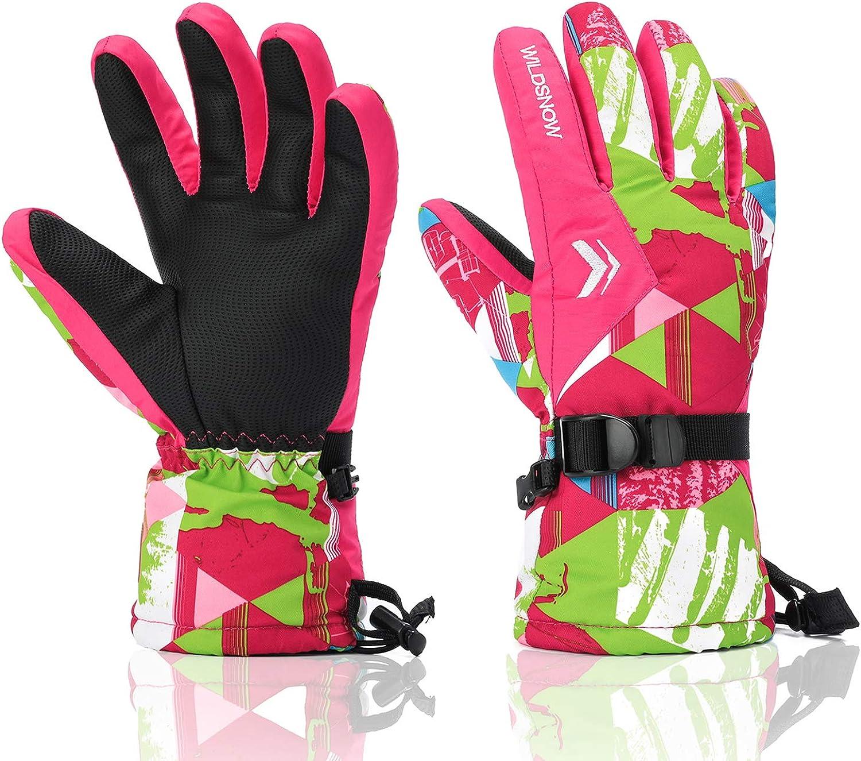 Ski Ranking TOP20 Gloves RunRRIn 100% Waterproof W Direct stock discount for Mens Warm Snow