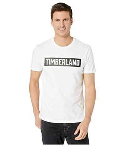 Timberland Brook 3-D Embossed T-Shirt (White) Men