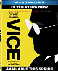 Adam McKay's VICE on Digital March 12 and on Blu-ray, DVD April 2 from Fox
