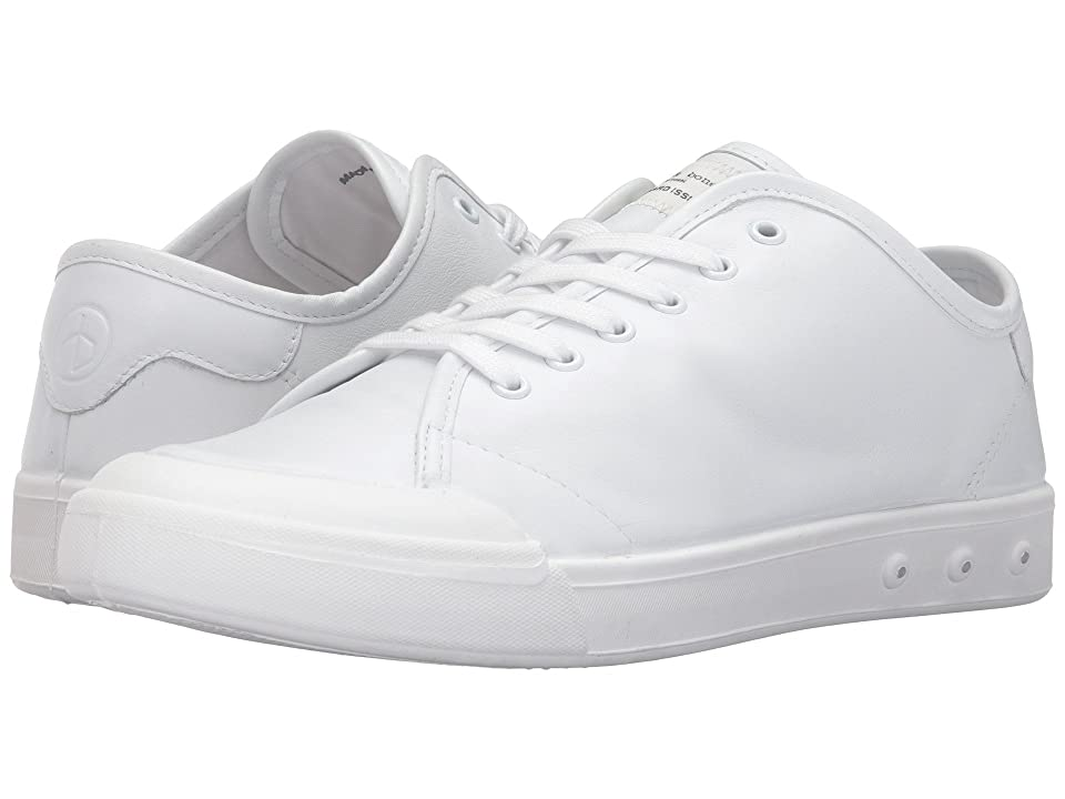rag & bone Standard Issue Leather Lace-Up (White) Men
