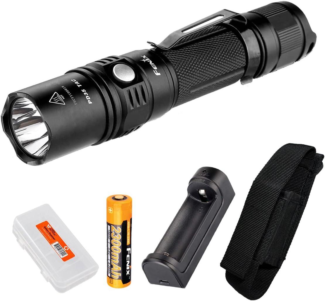 Fenix Sale SALE% OFF PD35TAC PD35 Tactical 1000 Flashlight Lumens Fresno Mall XP-L R LED