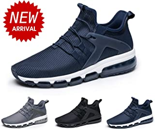ONEMIX Men's Air Running Shoes,Casual Sneakers Breathable Athletic Gym Sports Tennis Slip On