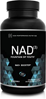 HPN NAD+ Booster - Nicotinamide Riboside Alternative (NAD3) for Men & Women | Anti Aging NRF2 Activator, Superior to NADH ...