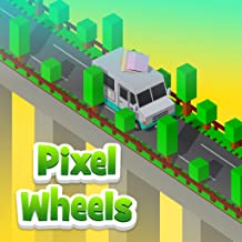 Pixel Wheels - hot road game