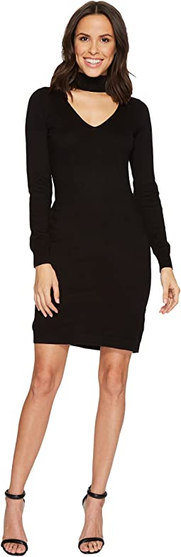 MICHAEL Michael Kors - Choker Sweater Dress