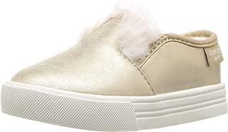 OshKosh B'Gosh Girls' Maeve Sneaker, Gold, 5 M US Toddler