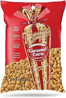 Popcornopolis Gourmet Popcorn Snack Bag, Pack of 20 Caramel Corn Popcorn 2.65 Ounce Bags