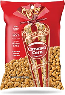 Popcornopolis Gourmet Popcorn Snack Bag, Pack of 20 Caramel Corn Popcorn 2.65 Ounce Bags