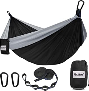 OurWarm Camping Hammock, Lightweight Portable Hammock...