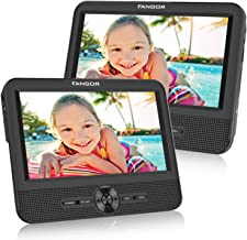 FANGOR 7.5 Dual Screen DVD Player for Car Portable CD Players with 5 Hours Rechargeble..