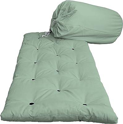 KARUP Lit Bed in a Bag en Un Borso, cottone/Polyester, Menthe poivrée 750, 38x 70x 38cm