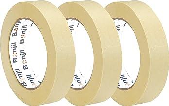 Bonjil Masking Tape for Carpenters & Painters Set of (18)
