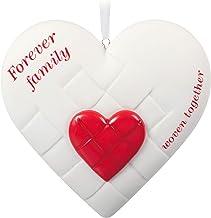 Hallmark Keepsake Christmas Ornament 2020, Close-Knit Family Heart, Porcelain
