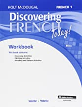 Discovering French Today! Workbook with Lesson Review Bookmarks: French 1: Bleu (French Edition)