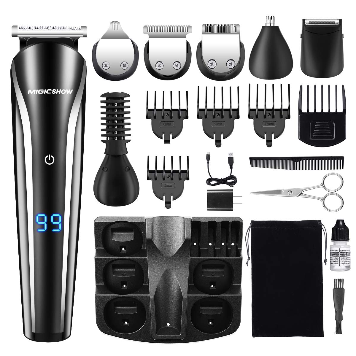 MIGICSHOW Cordless Waterproof Multi functional Rechargeable