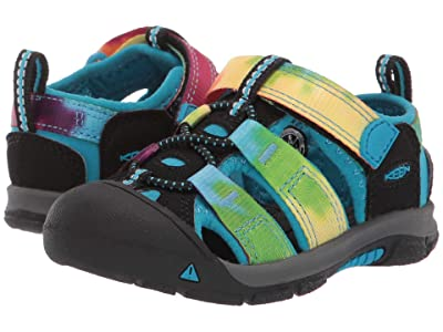 KEEN Kids Newport H2 (Toddler) (Rainbow Tie-Dye 1) Kids Shoes