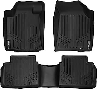 MAXLINER Floor Mats 2 Row Liner Set Black for 2013-2018 Nissan Altima Sedan (Manufactured After Nov. 2012)
