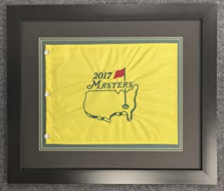 Augusta National - Masters Flag with Photos and Info - Framed 24