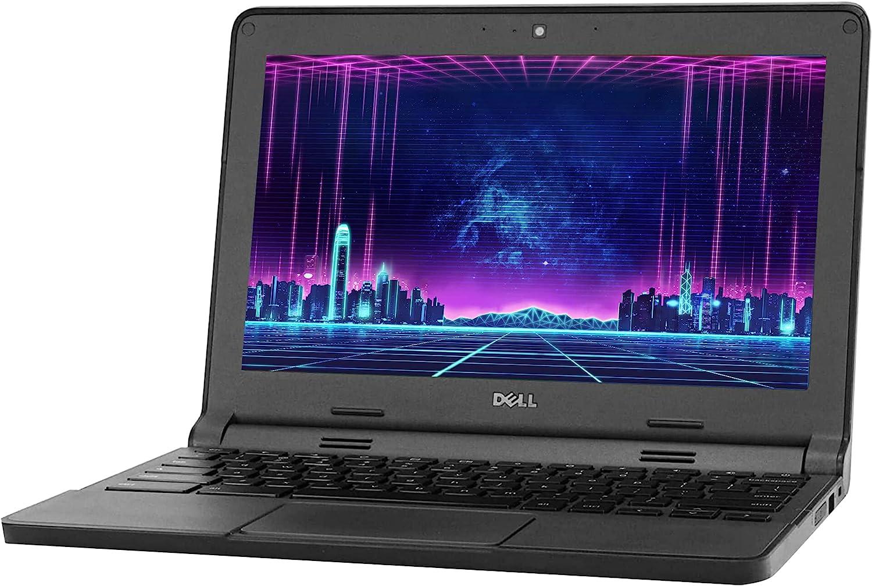 Dell Chromebook 3120 Laptop Computer Intel Dual Core 4GB RAM 16GB SSD WiFi HDMI (Renewed)