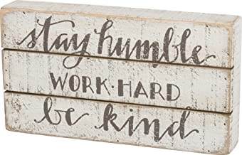 Primitives by Kathy Hand Lettered Box Sign, 11