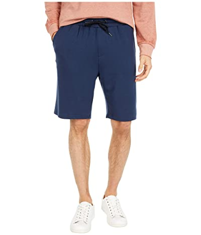 Threads 4 Thought Feather Fleece Drawstring Shorts (Raw Denim) Men