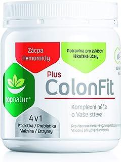 COLONFIT PLUS para Alivió de Gases Intestinales y Hinchazón con Enzymas Digestivas, Probióticos, Prebióticos y Fibra | Ayuda Hemorroides, Estreñimiento y Limpieza de Intestino