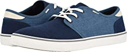 Navy Airforce Blue Heritage Canvas (Vegan)