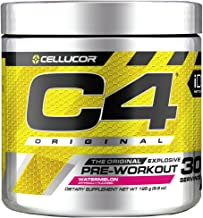 C4 Original Pre Workout Powder Watermelon | Vitamin C for Immune Support | Sugar Free Preworkout Energy for Men & Women | ...