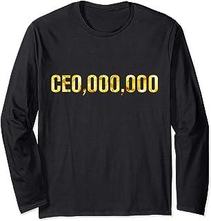 Sponsored Ad - CEO 000 000 or CEO OOO OOO Men Woman Entrepreneur Long Sleeve T-Shirt
