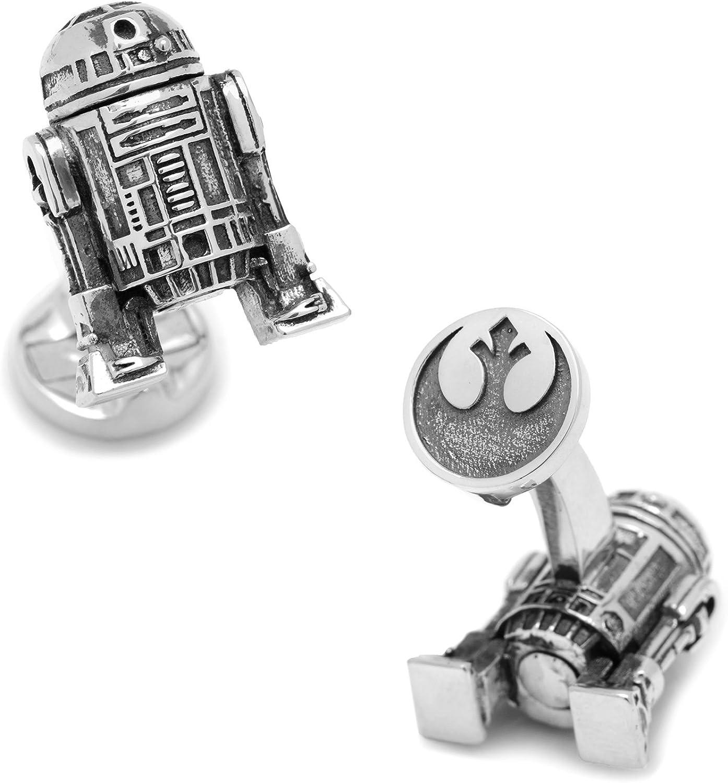 Star Wars 3D R2D2 Cufflinks, Officially Licensed