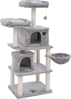 songmics 60 multi level cat tree