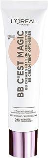 L'Oréal Paris BB C'est Magic BB Cream 04 Medium met Hydraterend Vijg-extract en Antioxidanten, 04 Medium